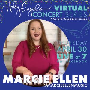 Marcie Ellen LIVE Virtual Concert @ Holy Angels Facebook Page